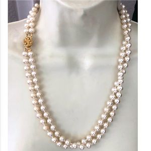Vintage 50's Double Strand Pearl Necklace